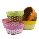 Eco-Friendly Handmade Natural Paper Basket (BC-PB1002)