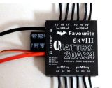 Original Favourite Fvt Littlebee 6A/12A/20A/30A ESC 4in1 Blheli Opto 2-4s for Oneshot125