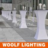 LED Furniture Portable LED Plastic Colorful Bar Table