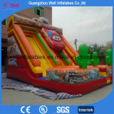 Cars Theme Inflatable Slide for Sale