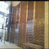 OEM ODM Custom Furniture Stainless Steel Decorative Screen Hall Partition Wall