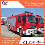 Tianjin Dongfeng 4X2 8000liters Foam Tank Fire Rescue Truck
