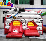 Spotty Dog Inflatable Jumping Bouncer