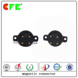 4pin Male and Female Round Type Magnetic Connector for Power