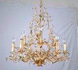 Factory Top Sale Golden Foiled Elegant Chandelier with UL