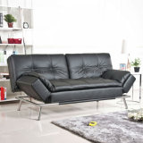 Office Sofa Leather Wooden Sofa Sets (UL-NS385)