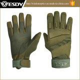 Green Military Tactical Shooting Gloves Outdoor Full-Finger Cycling Gloves