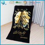 Wholesale 100% Cotton Velour Custom Design Printed Beach Towel
