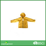 High Quality Newest Fashion Kid′s PU&PVC Raincoat