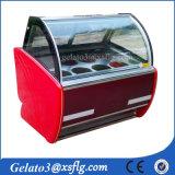 Commerical Gelato Case Freezer/ Ice Cream Display Freezer Cabinet