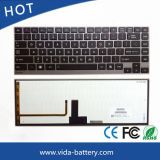 Mechanical Keyboard/Laptop Keyboard for Toshiba Satellite R700 U900 U920t U800 U800W Us with Backlit