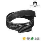 Latest Design Wholesale Fashion Belt Carbon Fiber Leather Belt Promotion Gift