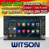 Witson Android 5.1 Car DVD for Universal Double DIN DVD with Quad Core Rockchip 3188 1080P 16g ROM WiFi 3G Internet Font DVR Picture in Picture (W2-F9900G)