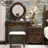 American Style Solid Modern Wood Dresser Set for Bedroom Furniture As822