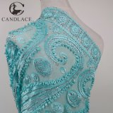 New Arrival Water Green African Beaded French Lace