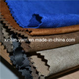 100% Polyester Suede Fabric for Sofa Clothes Shoes