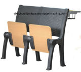 Aluminum Alloy College Desk and Chair for School