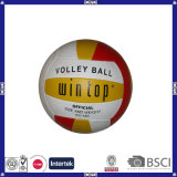 Machine Stitched PVC Leather Customized Logo Volleyball