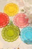 Anti-Slip Tableware Flower Shape Silicone Cup Mat