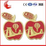 Customized Souvenir Zinc Alloy Badge Factory