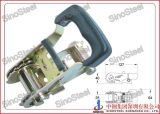 """1""""-25mm Rubber Wide Handle Ratchet Belt Buckle"""
