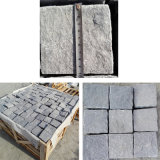 Grey/Black Cubestone, Kerbstone, Cobble Stone, Paving Stone