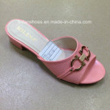 New Style Good Quality Fashion Women PU Slipper Sandals (JH160523-4)