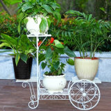 Wrought Iron Flower Stand for Home and Garden Decoration