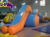Z Shape Inflatabe Water Slide Float on Sea