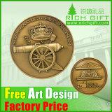 OEM Old Custom Engraved Commemorative Metal Coin