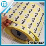 Custom White Circular Waterproof Price Roll Label Printing