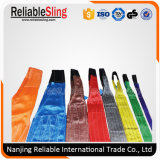 Cargo Lifting Rigging Hardware Double Ply Webbing Sling