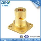 High Precision Customized Brass CNC Turning Parts for Audio Equipment (LM-1995A)