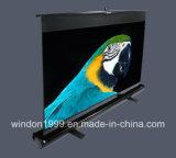 "80"" 4: 3 Floor Projector Screen, Portable Projector Screen"