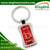 Tourist Souvenirs with Rectangle CD Layer Sticker Keychain (K101CD)