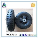 High Quality Plastic Rim PU Solid Wheel