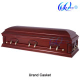 Full Couch Dome Casket African Gloss Coffin and Casket