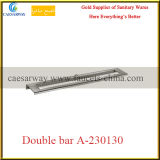 Sanitary Ware Bathroom Accessories Stainless Steel Double Bar