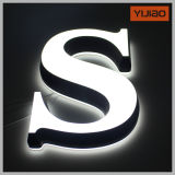 Frontlit & Backlit LED Letter Sign Illuminated