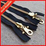 Free Sample Available Ningbo Golden Metal Zipper