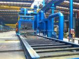 Roller Convey Section Steel Shot Blasing Machine