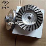 Sintered Cup Turbo Segment Polished Stone Concrete Diamond Grinding Blade