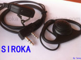 Customized Two Way Radio Accessories Earphone for Srk-E006