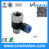 Plastic Air Tube Pneumatic Hose Fitting with CE