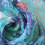 Digital Printing for 8mm Crinkle Georgette Silk Fabrics