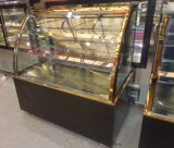 Luxury Double Arc Shape Automatic Defrost Cake Display Cabinet