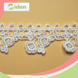 China Wholesale Embroidery Water Soluble African Chemical Lace for Wedding