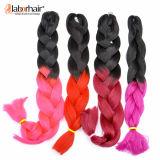 2017 Fiber Fancy Hair Braid 100 % Kanekalon Jumbo Braid Synthetic Hair Extensions Stock Lots Goods Available Lbh 014