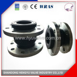 Industrial Single Sphere Rubber Expansion Joint with Galvanized Flange