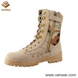 Acid-Resistant Camouflage Desert Military Boots in Goodyear Welt (CMB002)
